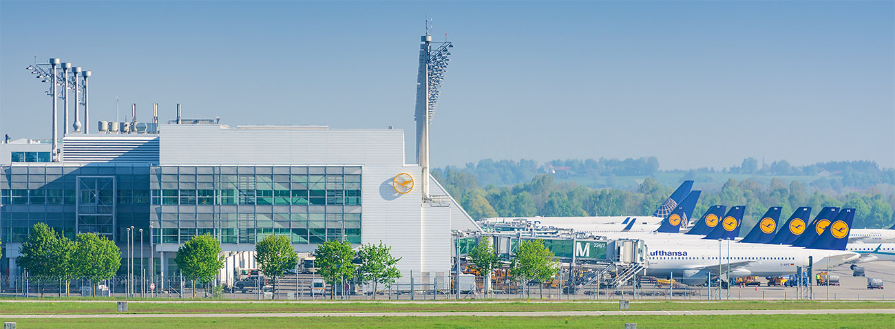 Das Reisebüro im Flughafen München